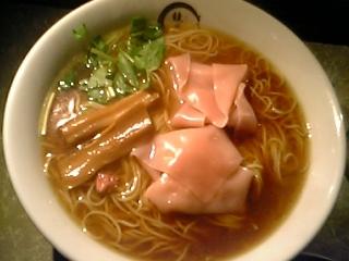 桜わんたん麺