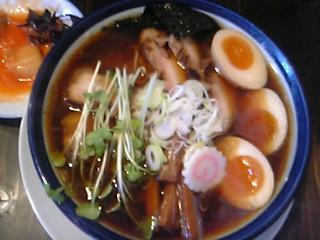 魚醤油ラーメン