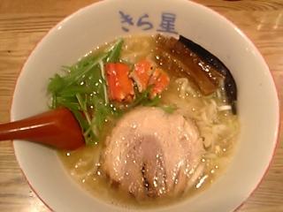 鶏とタラバ蟹のラーメン